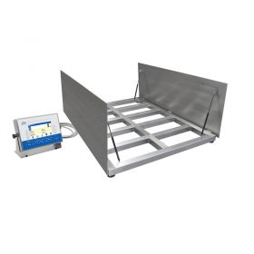 Wielofunkcyjna waga platformowa nierdzewna zagłębiana HX7.4.300.H8/9/Z